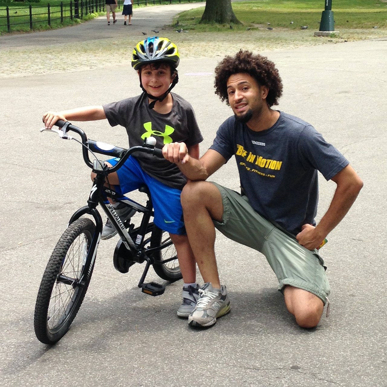bike riding lessons